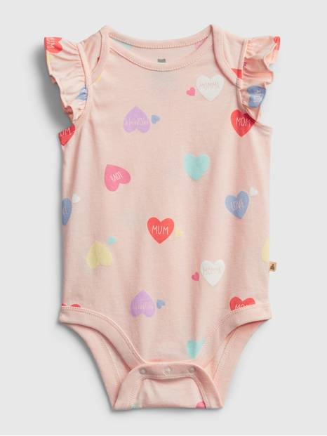 Baby Organic Cotton Mix and Match Graphic Bodysuit