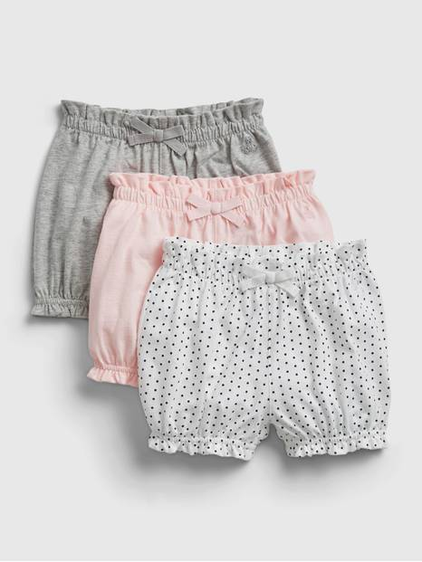 Baby Organic Mix and Match Pull-On Shorts (3-Pack)