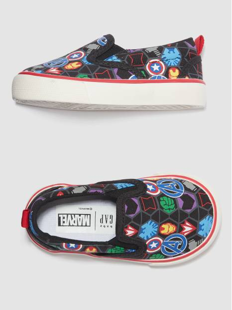 babyGap &#124 Marvel Avengers Slip-On Shoes