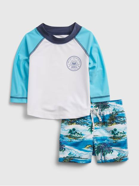 Baby Recycled Swim Set