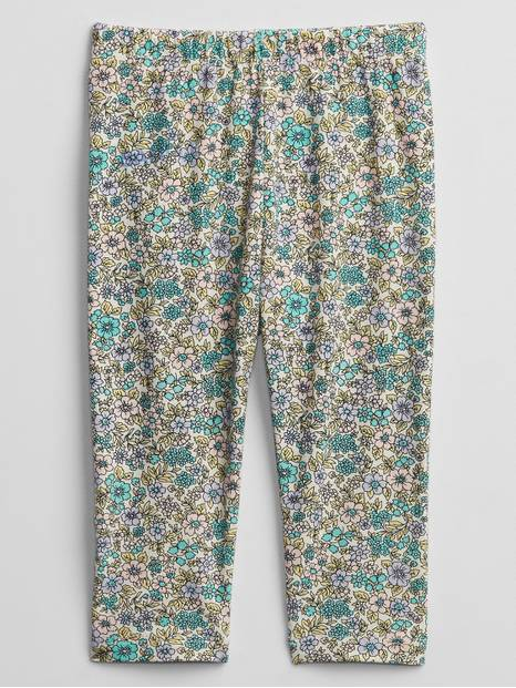Baby Mix and Match Floral Print Leggings
