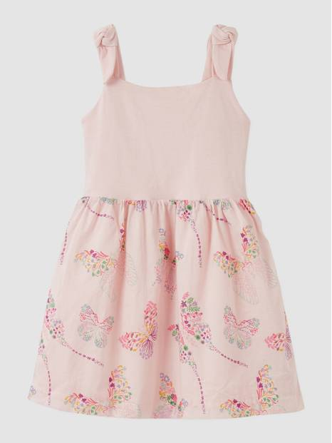 Kids Mix-Media Dress