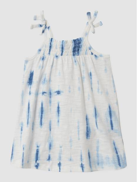 Toddler Tie-Dye Smocked Dress