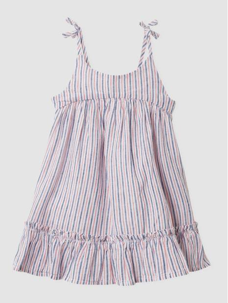 Baby Stripe Dress Set