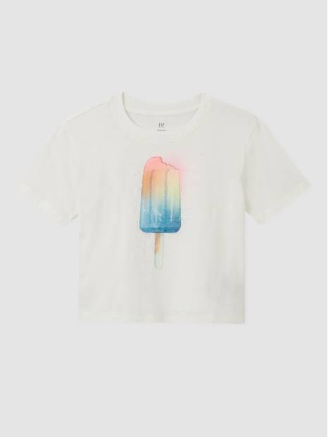 Kids Graphic Boxy T-Shirt