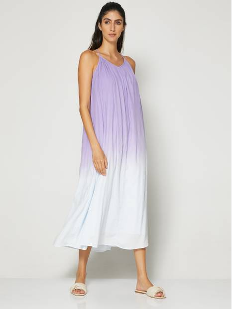 Tie-Back Cami Maxi Dress
